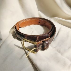 Brooks Brothers Alligator Belt